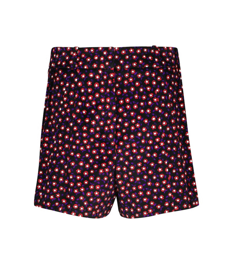 Paco Rabanne Floral cotton shorts