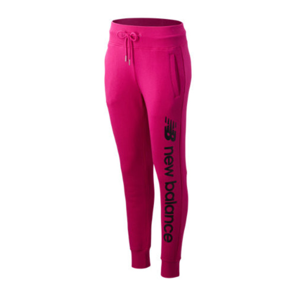 New Balance 93509 Women's Sport Style Optiks Sweatpant - Pink (WP93509CNV)