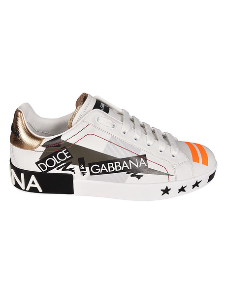 Dolce & Gabbana Low-top Sneakers in bianco