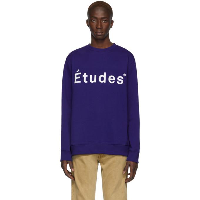 Études Études Blue Story Sweatshirt