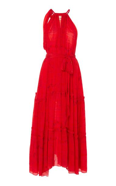 Chufy Huancayo Broadcloth Maxi Dress in print