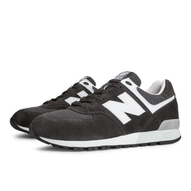 576 New Balance Men's Made in USA Shoes - Grey, White (US576ND2)