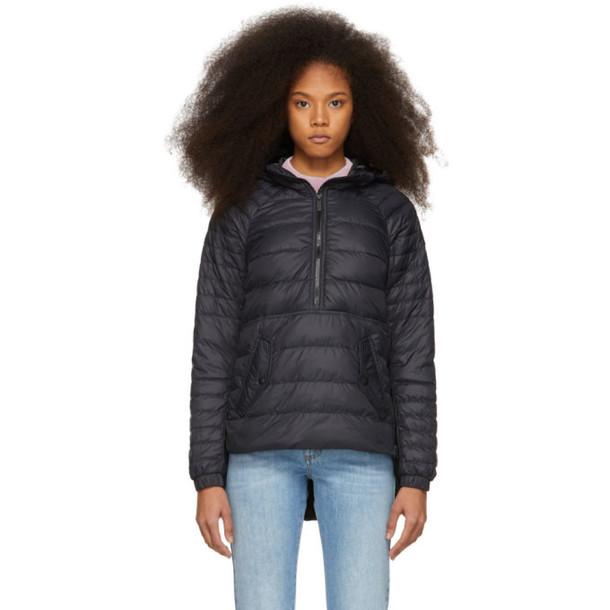 Canada Goose Black 'Black Label' Down Cornelia Pullover Jacket