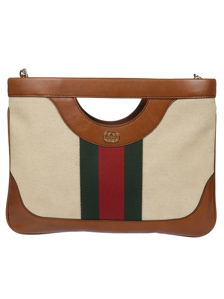 Gucci Vintage Shoulder Bag in sand / multi