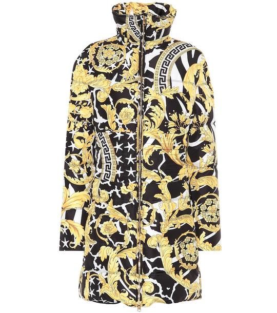 Versace Printed down jacket
