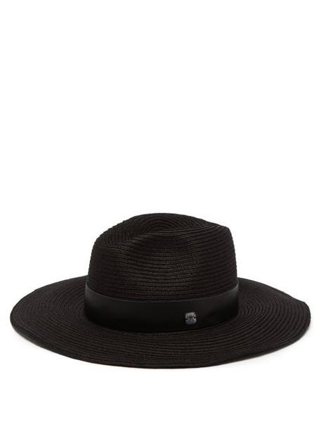 Filù Hats - Batu Tara Lava Papier Panama Hat - Womens - Black