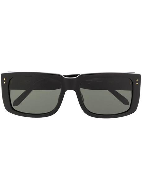Linda Farrow square frame sunglasses in black