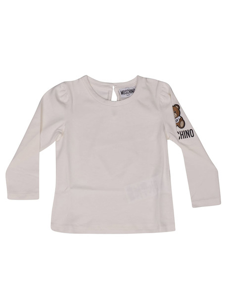 Moschino Teddy Bear Print Long Sleeve T-shirt