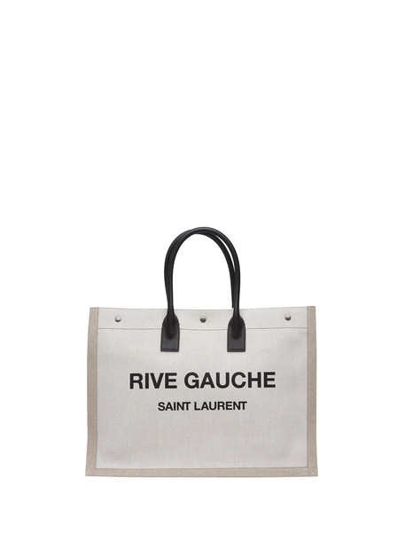 Saint Laurent Saint Laurent Rive Gauche Tote Bag in nero