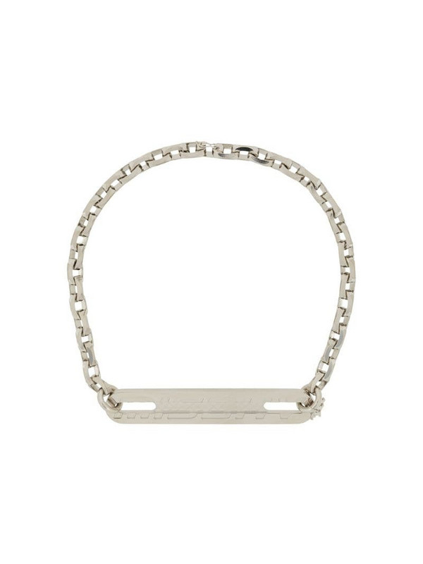 MISBHV Trinity chain-link necklace in silver