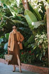 hallie daily,blogger,shorts,coat,dress,belt,shoes,bag,jewels,sunglasses