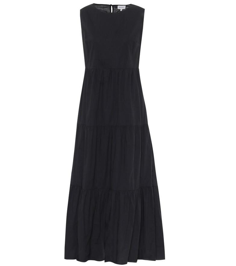 Woolrich Cotton maxi dress in black