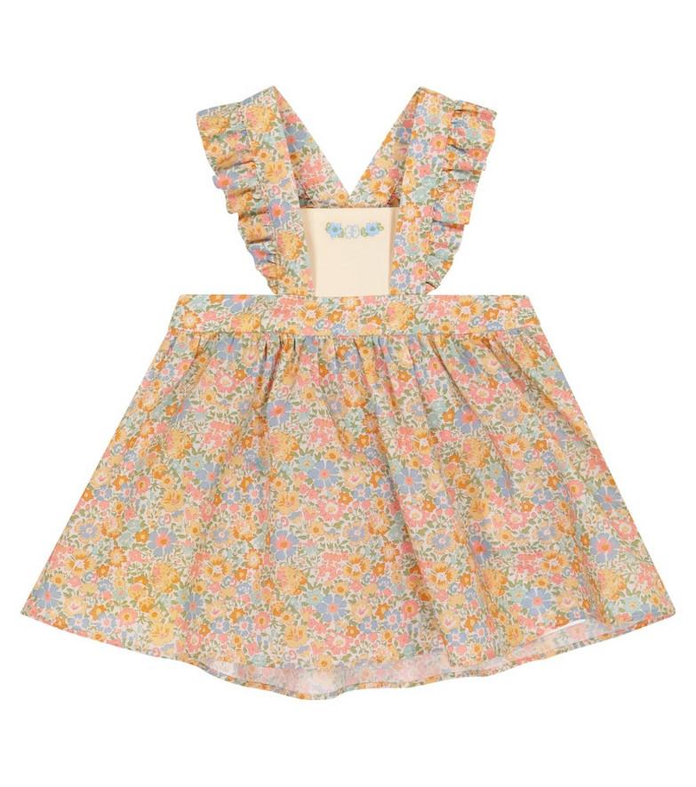 Gucci Kids Baby Liberty floral cotton dress