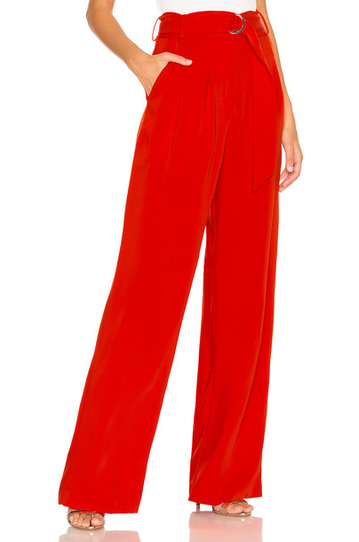 Lovers + Friends Lida Pants in red