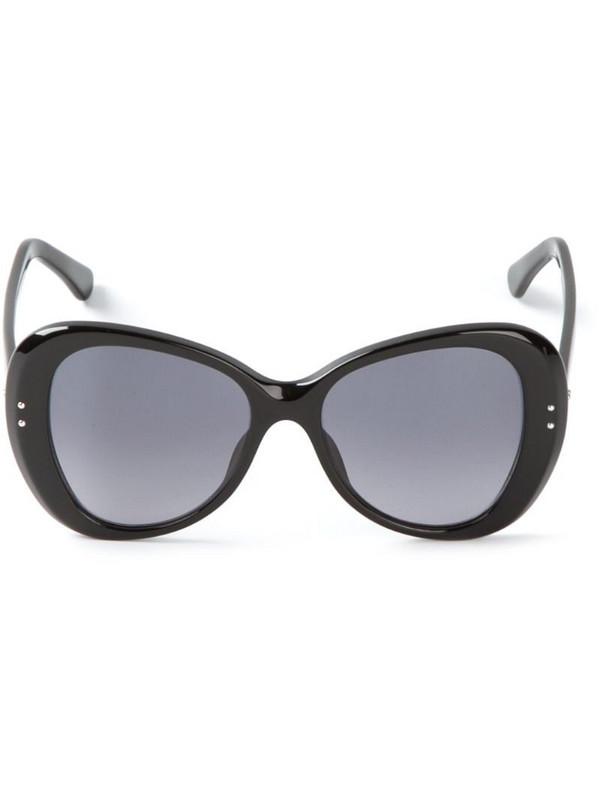 Cutler & Gross shell frame sunglasses in black