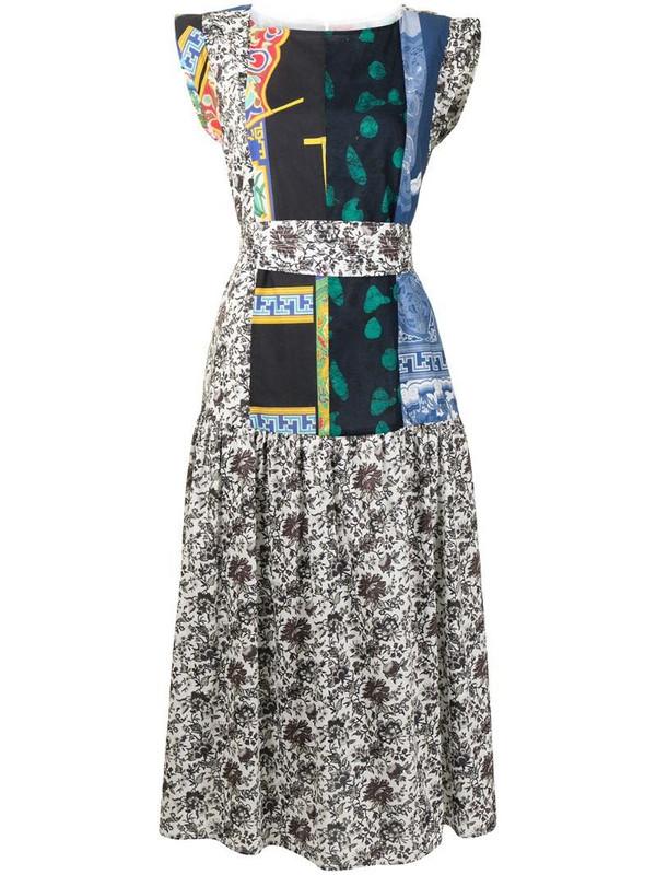 Rachel Comey Audre patchwork cotton dress