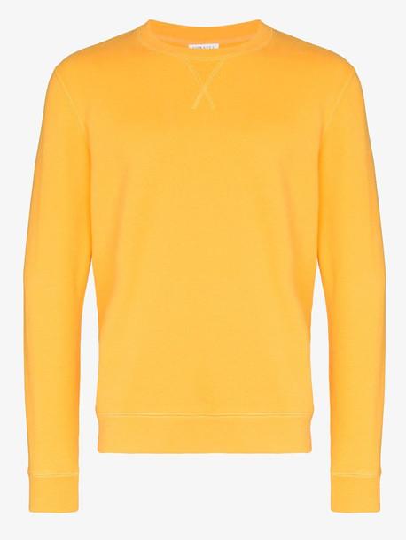 Sunspel loopback cotton sweatshirt