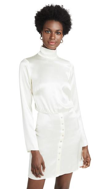 Sablyn Tonya Silk Dress in white