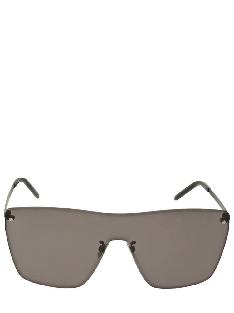 SAINT LAURENT Ysl Sl 463 Mask Metal Sunglasses in black