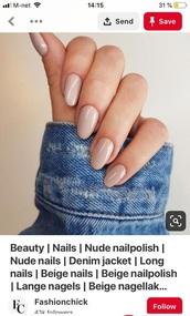 nail polish,nude,nail art