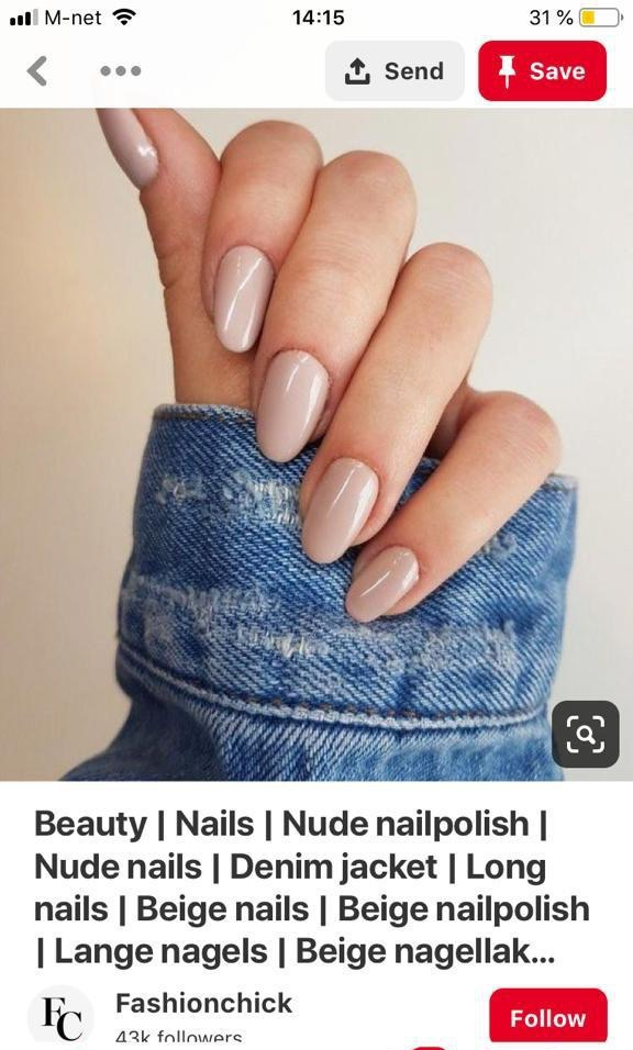 nail polish nude nail art