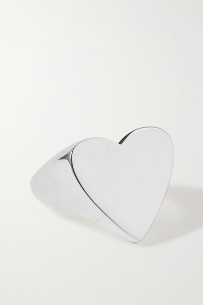 Sophie Buhai - Heart Silver Ring