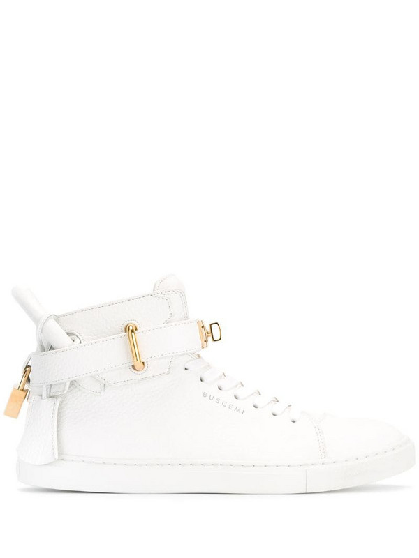 Buscemi high-top trainers in white