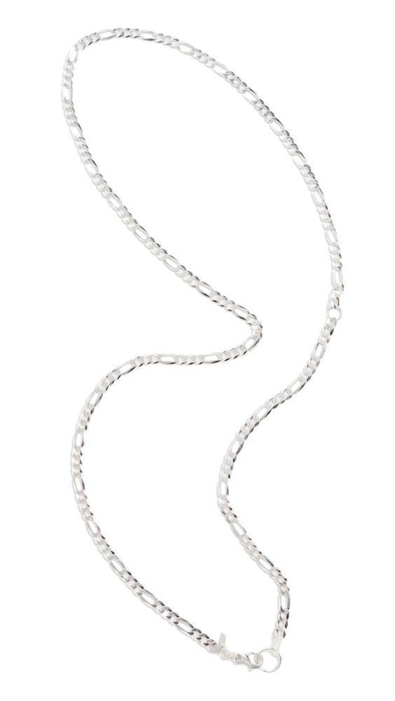 Loren Stewart XXL Figaro Body Chain in silver