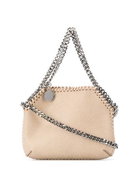Stella McCartney tiny Falabella shoulder bag in neutrals