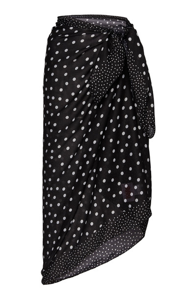 Solid & Striped Polka Dot Voile Pareo