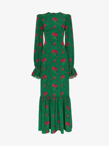 The Vampire's Wife the gypsy riding dress in green