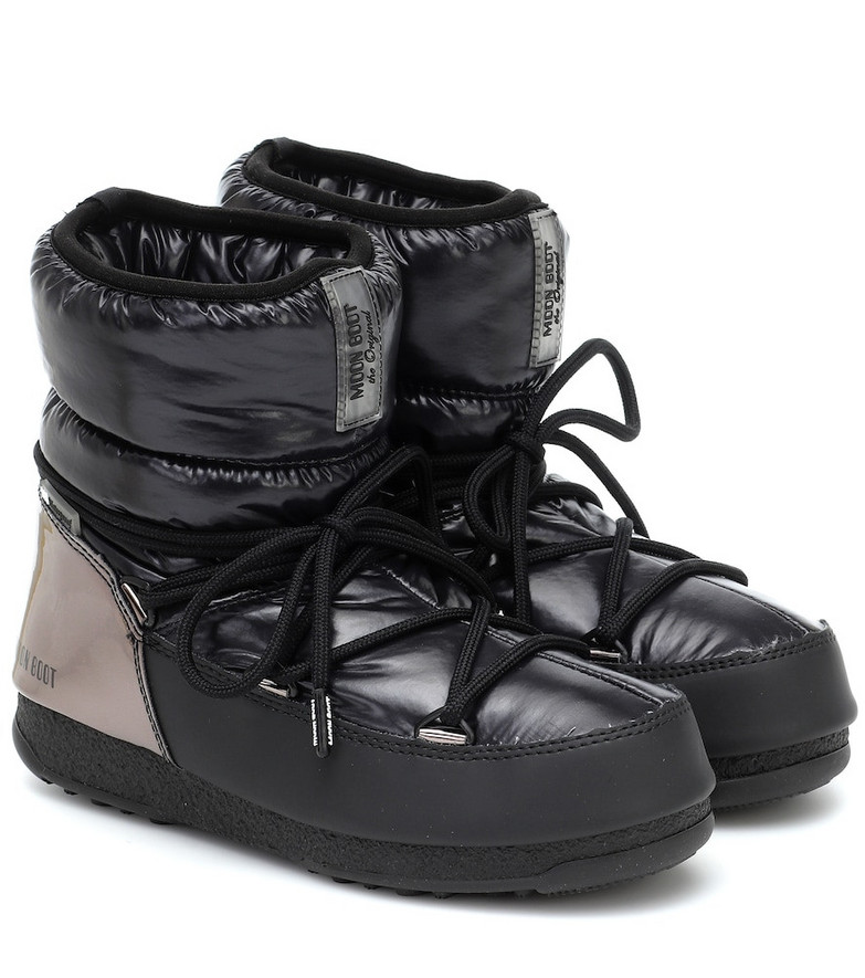 Moon Boot Low WP snow boots in black