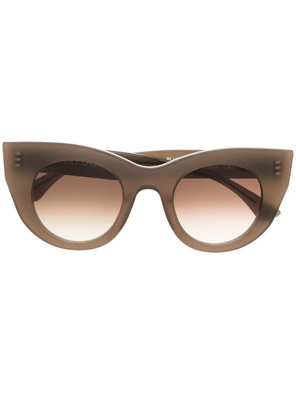 Thierry Lasry gradient cat-eye-frame sunglasses in brown