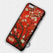 top,almond tree,red,iphone cover,iphone case,iphone 7 case,iphone 7 plus,iphone 6 case,iphone 6 plus,iphone 6s,iphone 6s plus,iphone 5 case,iphone 5c,iphone 5s,iphone se,iphone 4 case,iphone 4s
