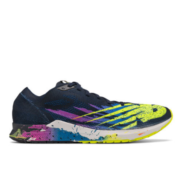 New Balance 1500v6 NYC Marathon Women's US Site Exclusions Shoes - Black/Green/Blue (W1500NY6)
