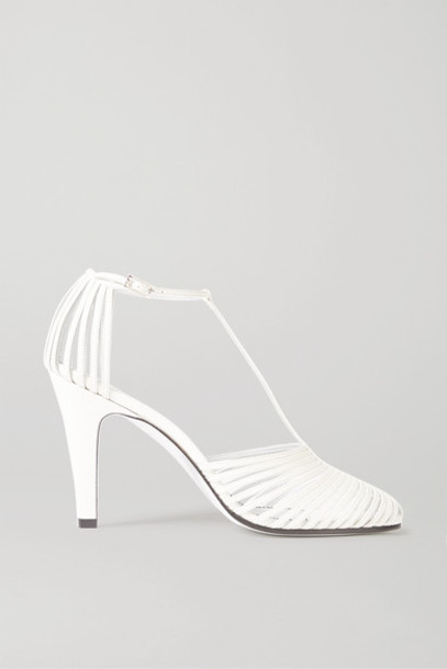 Givenchy - Leather Pumps - Off-white