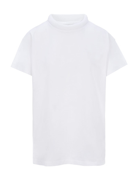 Maison Margiela Martin Margiela Round Neck Padded T-shirt in white
