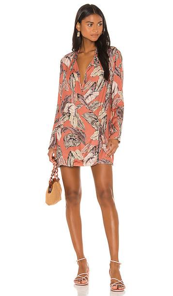 BEACH RIOT Benny Blazer Dress in Pink