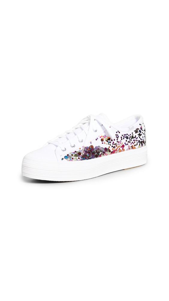 Keds x Kate Spade New York Triple Kick Confetti Sneakers in multi