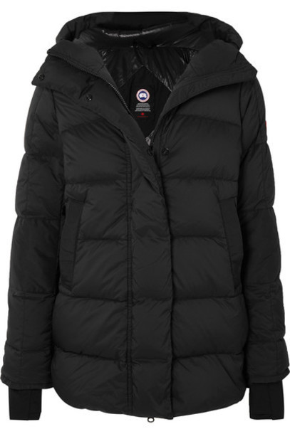 Canada Goose - Ellison Quilted Ripstop Down Jacket - Black