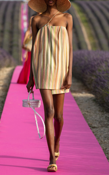 Jacquemus La Robe Soleil Striped Mini Dress