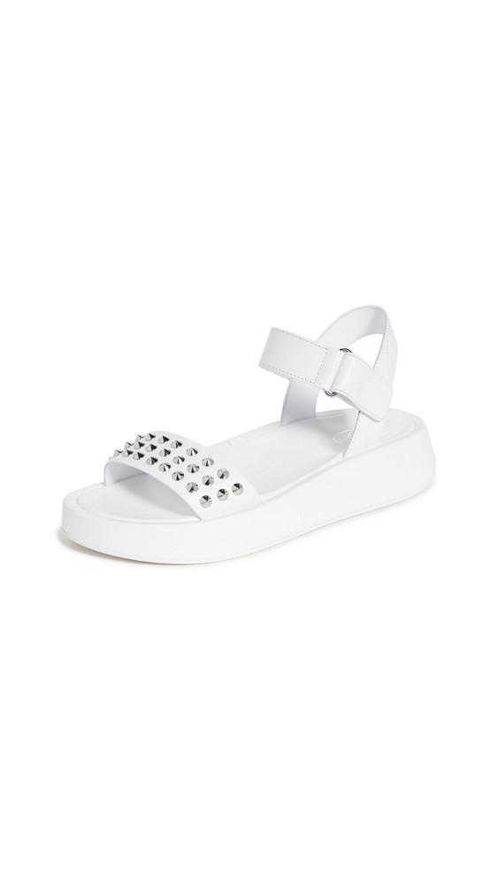 Ash Vera Sandals in white
