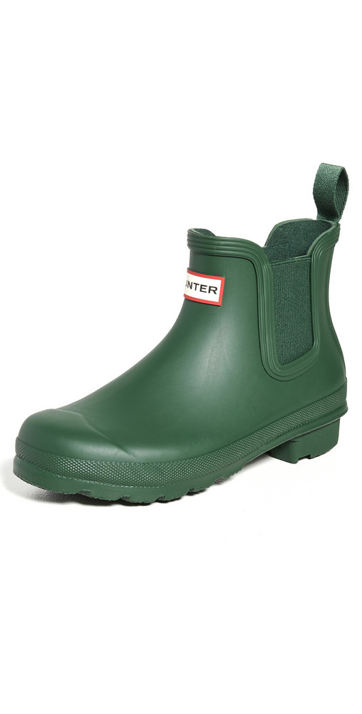 Hunter Boots Original Chelsea Boots in green