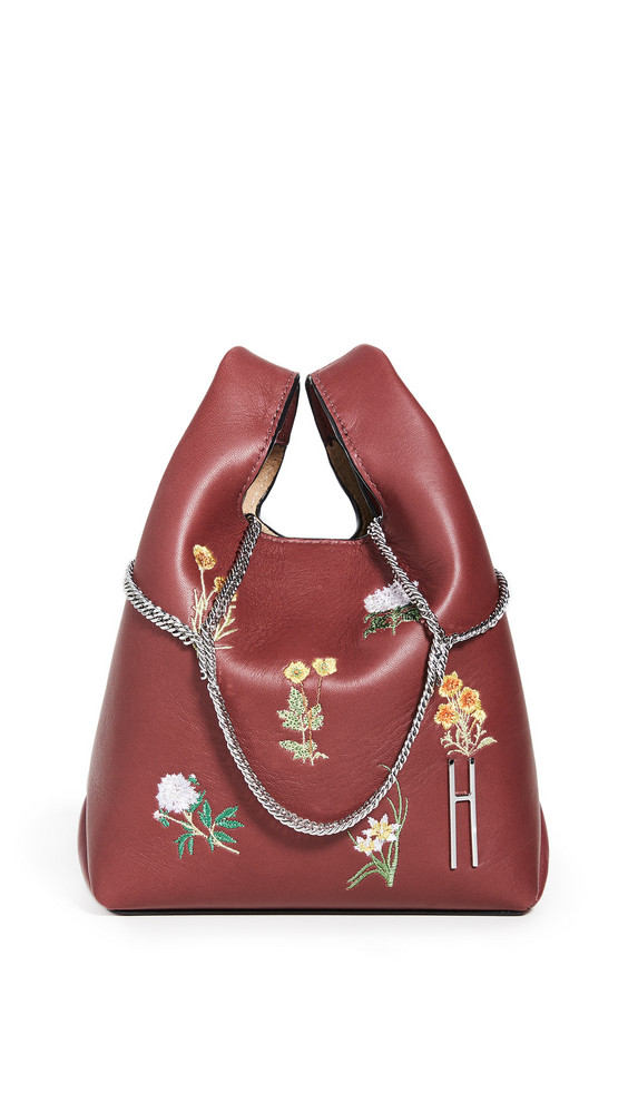 Hayward Mini Chain Bag in burgundy