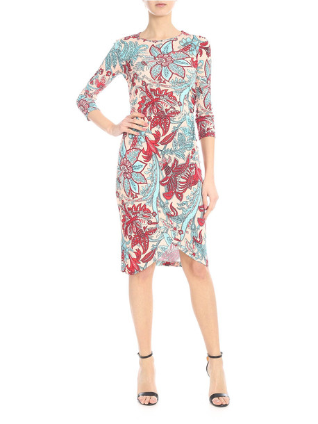 Jucca Floral Print Viscose Dress