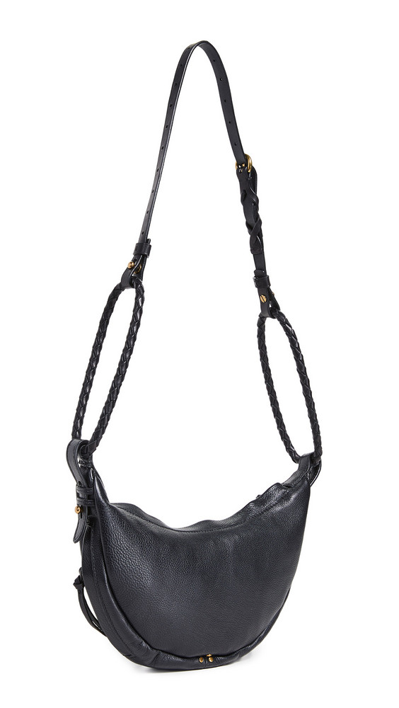 Jerome Dreyfuss Small Willy Hobo Bag in noir