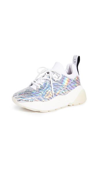 Stella McCartney Eclypse Sneaker Laces in white