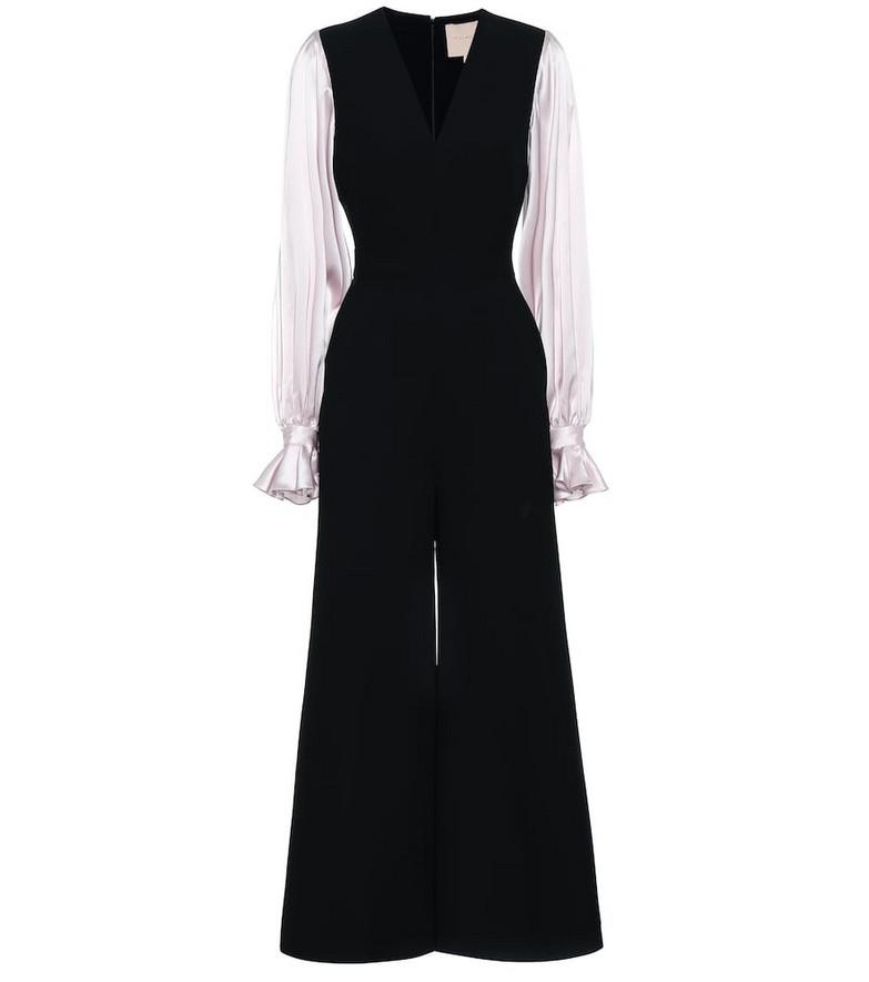 Roksanda Lili crêpe jumpsuit in black