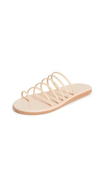 Ancient Greek Sandals Sani Sandals in natural
