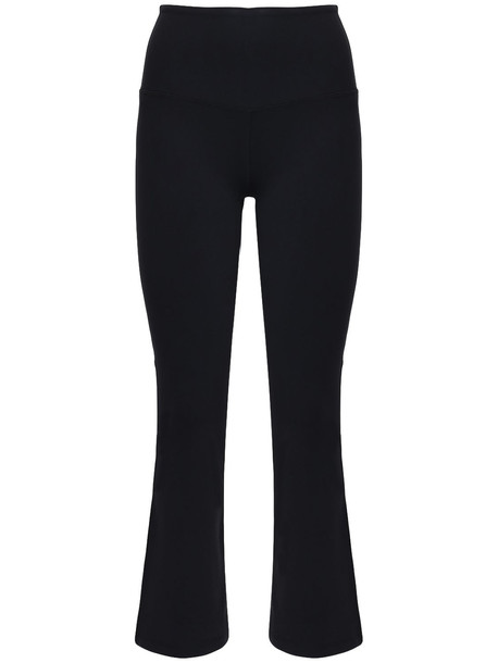 SPLITS59 Raquel High Waist Cropped Pants in black